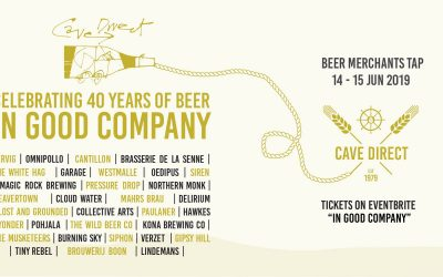 "Come celebrate 40 years of beer ""In Good Company""!"